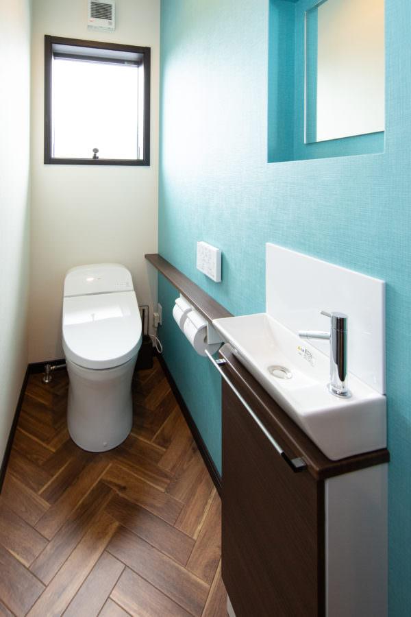 大分市松が丘|リゾート感のあるトイレ